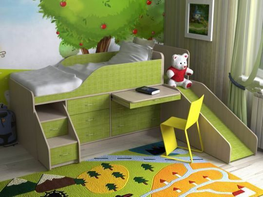 Кровать для мальчика от 3 лет